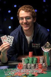 Harrison Gimbel er den yngste mesteren noensinne.