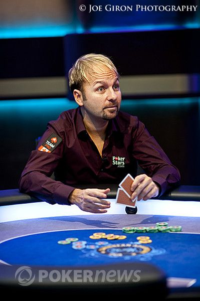Daniel Negreanu at the 2012 PCA Super High Roller final table
