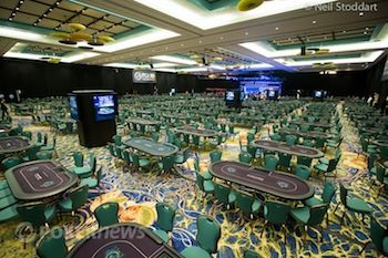 The 2013 PCA tournament floor