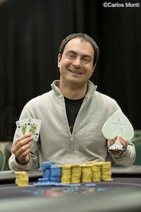 Aleksey Afanasyev. Photo courtesy of PokerStars Blog.