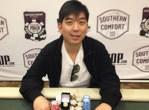 David Yoon, winner of Event #3.