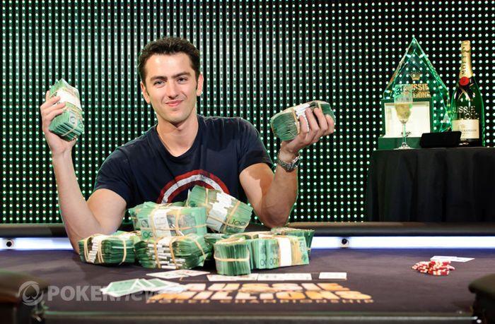 Zwycięzca 2012 Main Event Oliver Speidel