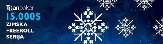 Takmiči Se u Titan Poker Winter Freeroll Seriji i Uvećaj Svoj Bankroll 101