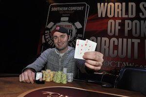 Aaron Ruppert, winner of Event #4.
