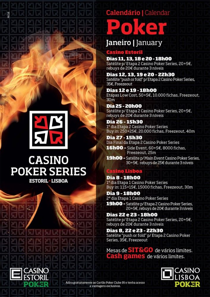 Arranca a Etapa #4 do Casino Poker Series 101