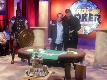 Mike og Phil avbildet før finalen