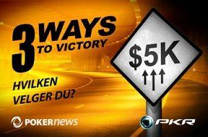 PokerNews +EV: Øk din bankroll hos Titan, Poker770 og PKR 101