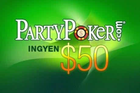 Fizess be február 9-ig a Party Pokerre és nyerj Nexus 4-t vagy .000-nyi készpénzt! 101