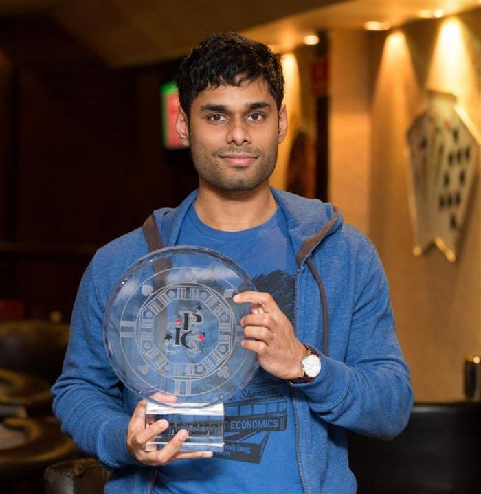 Anuruddha Meddegoda is the India Poker Champion 2013 101