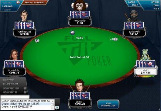 Παίξτε απέναντι στους Gus Hansen και Victor Blom στο Full Tilt Poker 101