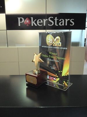 Наградата на PokerStars от IGA 2013