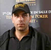 Cederic Rossi (Picture courtesy of PartouchePokerTour.com)