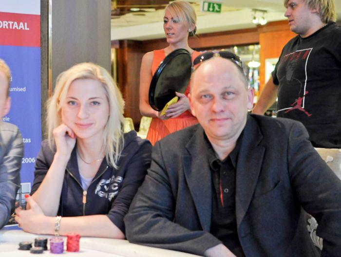 Paarismängu tšempionid: Kadi Tomson ja Peeter Talviste