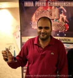 Jasven Saigal, winner of IPC 10k Weekend Kickoff