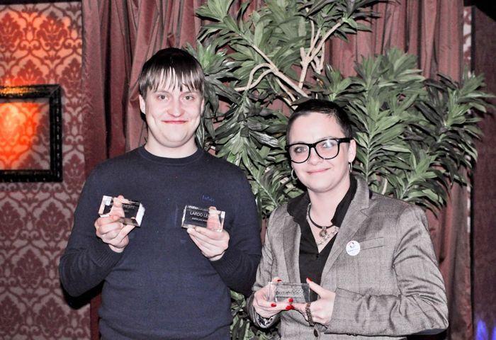 2012. aasta parimad mees- ja naismängija: Lardo Leheste ja Katti Järvsoo