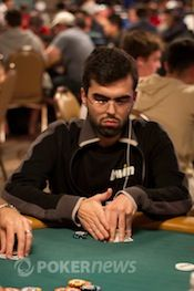 "Renato ""leguito"" Almeida took third in the Sunday Million."