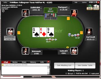 Titan Poker client.