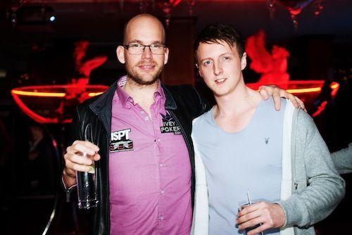 James Dempsey and Matt Perrins