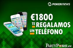 PartyPoker semanal: ganadores, último sábado de torneo, 40€ gratis y WPT National 101