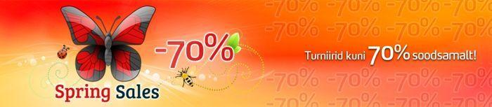 Olympic-Online turniiride osalustasud kuni 70% soodsamad 101