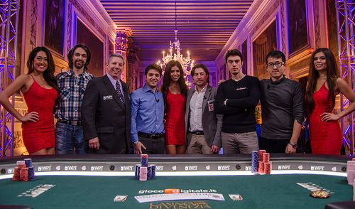 The 2013 WPT Venice Grand Prix final table.