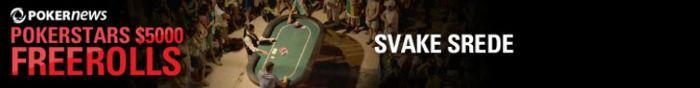Ostala su Samo JošTri Freerolla u ,500 PokerStars PokerNews Freeroll Seriji 101