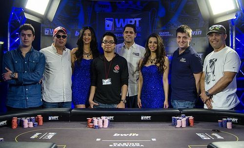 The 2013 WPT Barcelona final table