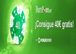 PartyPokerSemanal: 30.000€ garantizados, 1.000€ de bankroll, 40€ gratis y más 102