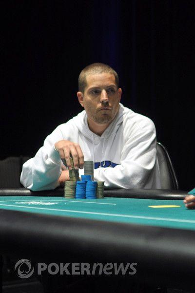 John Bowman at the final table.