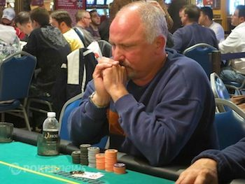 Day 1a chip leader Kelly Cortum