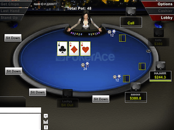 The PokerAce client.
