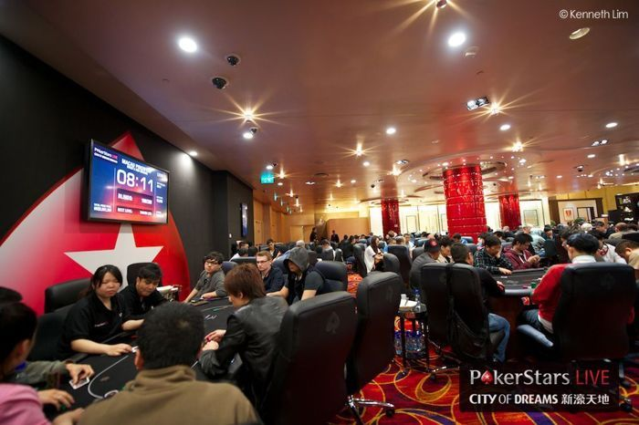 PokerStars LIVE! room at City of Dreams (Image courtesy: PokerStars Blog)
