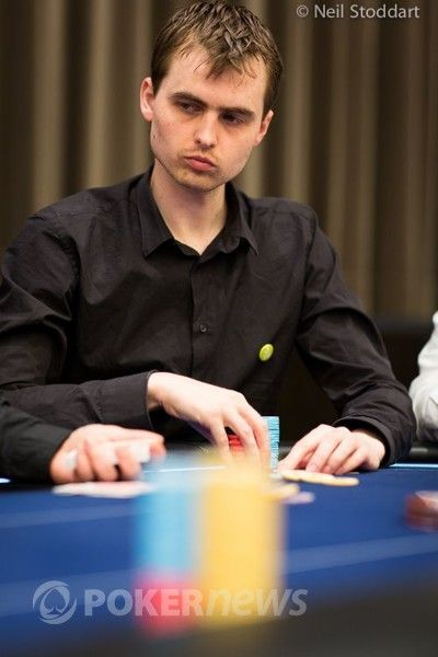 Martin Kabrhel - Second in chips entering Day 3