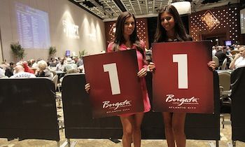 Royal Flush Girls Danielle Ruiz (left) and Tugba Ercan.