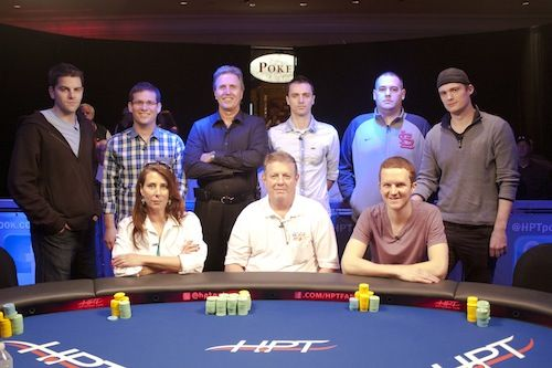 The HPT River City Final Table.