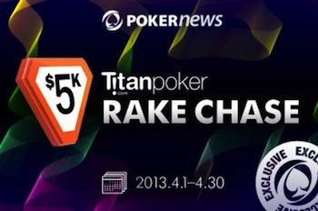 Don't Miss Out on the K Titan Spring Freeroll Series and K RakeChase 101