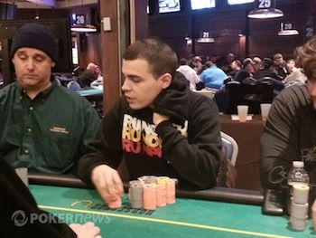Cord Garcia at the WSOP Circuit Council Bluffs.