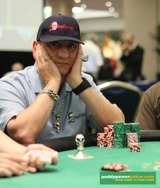 Gerald 'SKULLMAN' David. Picture courtesy of PaddyPowerPoker blog.