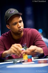 Phil Ivey busted twice but will likely enter again on Day 2