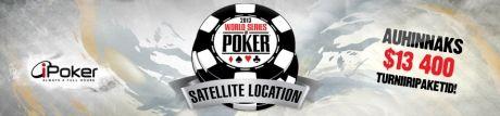 WSOP kvalifikatsioonid Olympic-Online pokkeritoas 101