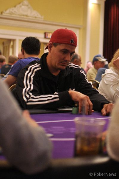 """Boston"" Rob Mariano playing the Main Event."