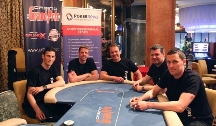 FC Levadia endised ja praegused võtmefiguurid PokerNews Live'il
