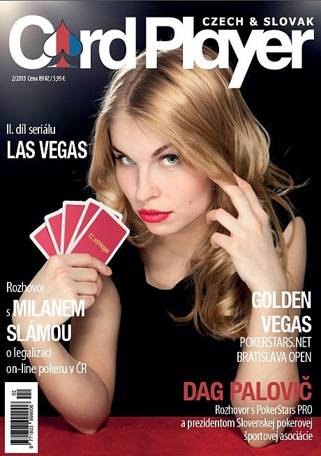 Vyšlo nové číslo Card Player - jediného časopisu o pokeru v Československu 101
