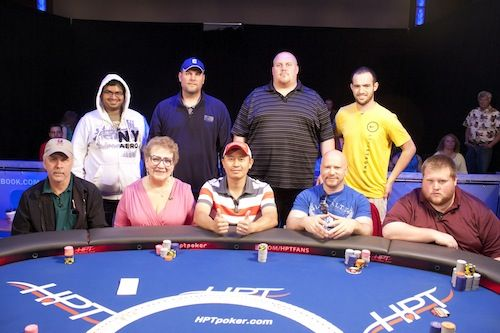 The HPT Soaring Eagle Casino final table.