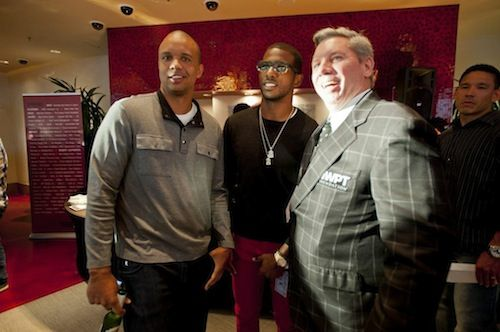 Phil Ivey, Chris Paul and Mike Sexton.