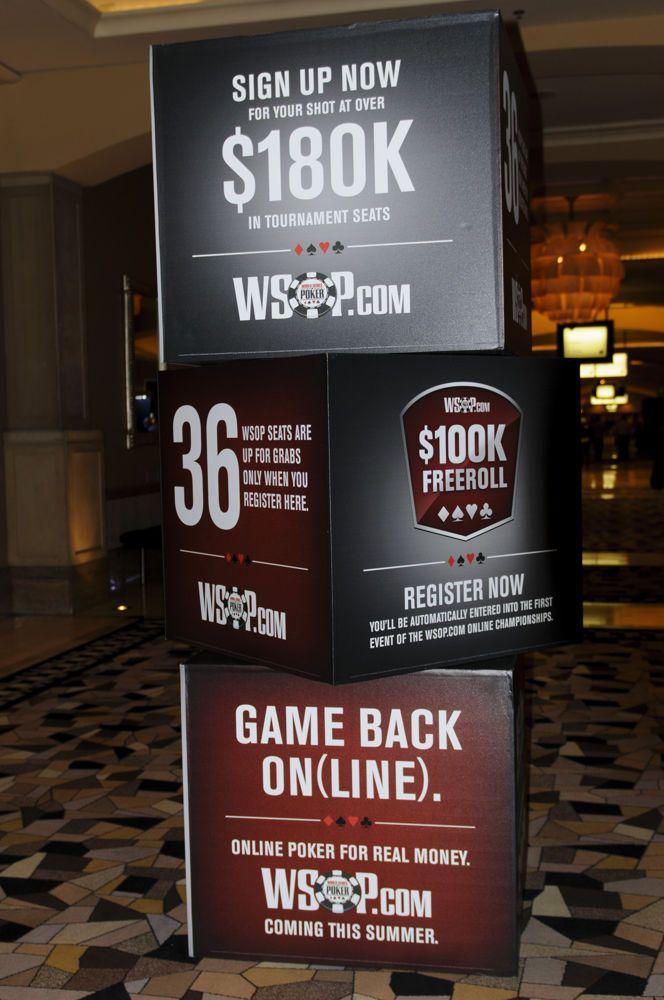 Dinheiro real na WSOP.com; Amaya com Perdas;  Detalhes atrasam Lei em Illinois 101