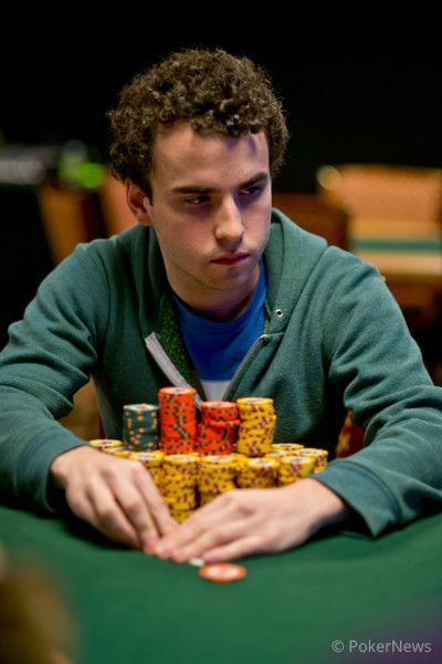24 year old Dan Kelly looks to add to his $1.5M in career WSOP earnings