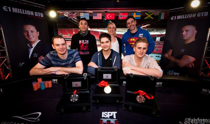 The ISPT Main Event final table