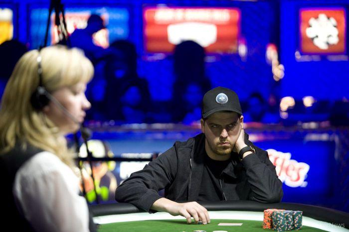 Schwartz during heads-up play