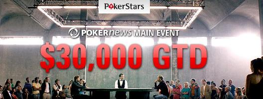 Kvalifikujte se za  PokerNews ,000 Freeroll na PokerStarsu 101